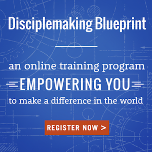 Disciplemaking Blueprint - register today!